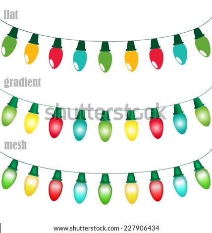 multicolored led christmas
