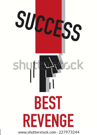 word success vector illustration