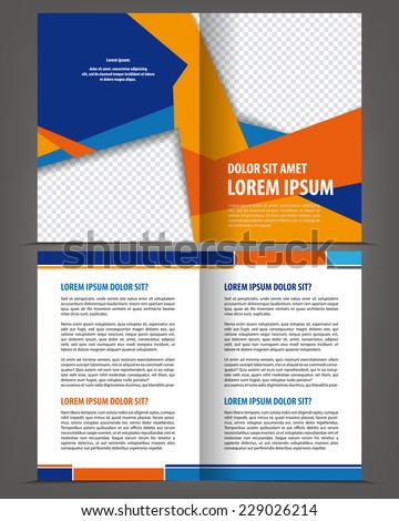 two fold brochure templates free vector download 16 382 free vector