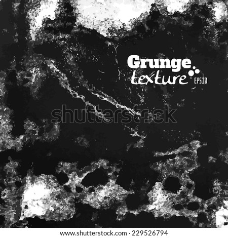 grunge paint and water