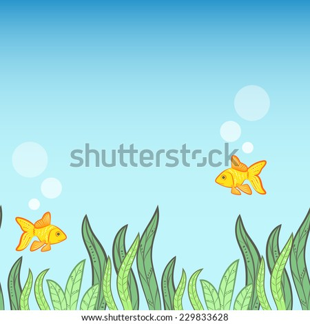 underwater background with