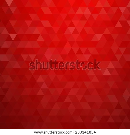 abstract red geometric
