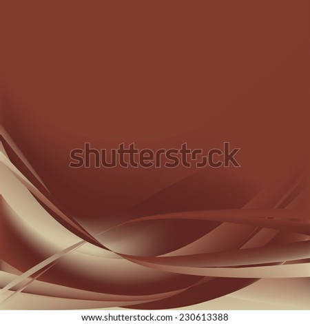 colorful brown abstract waves