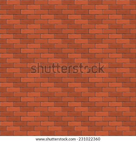 red brick wall  abstract