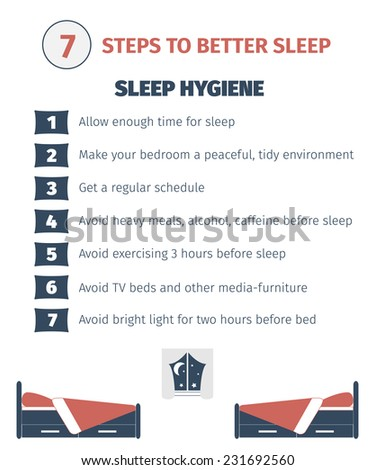 sleep infographicsleep hygiene