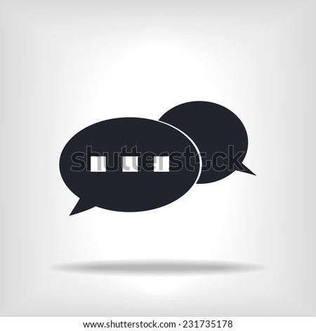 communication icon   vector icon