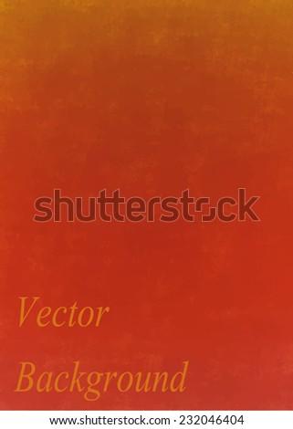 orange vintage vector background