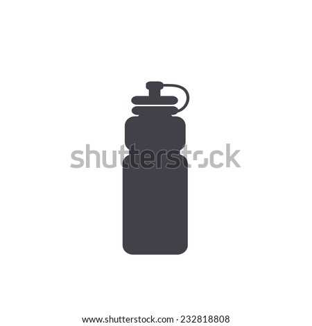 sports water bottle icon