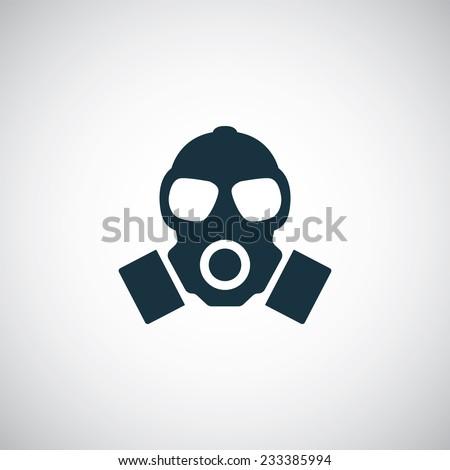 respirator icon on white
