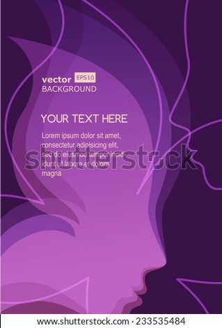 vector background with