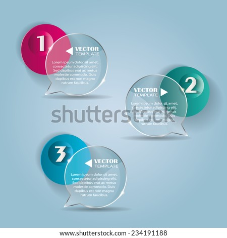 set of bubbles  stickers