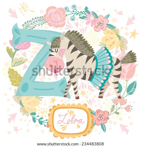 vector cute children animals