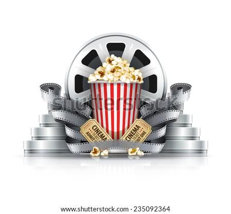 popcorn film strips and disks