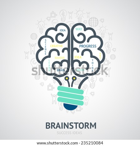 idea brainstorm design concept