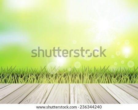 close up look at natural grass