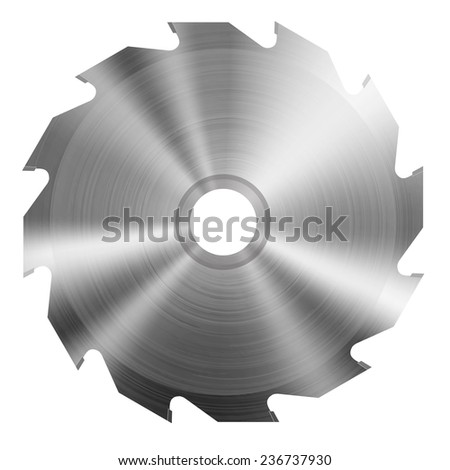 realistic circular saw blade
