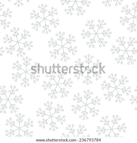 seamless christmas pattern with