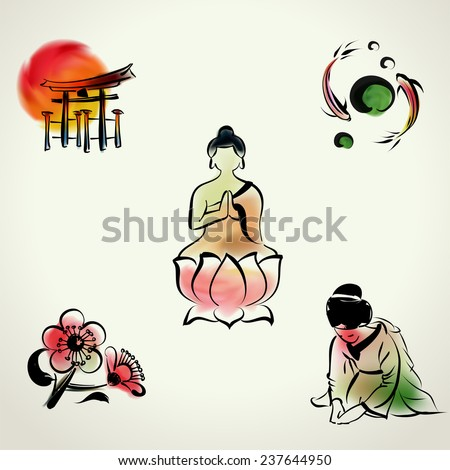 japanese cultural icon with