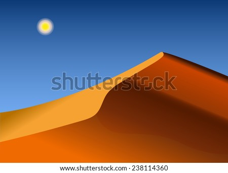 background abstract desert