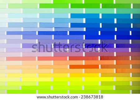 vector colour card  paper  with