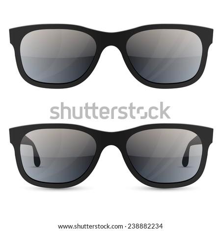 classic sunglasses vector