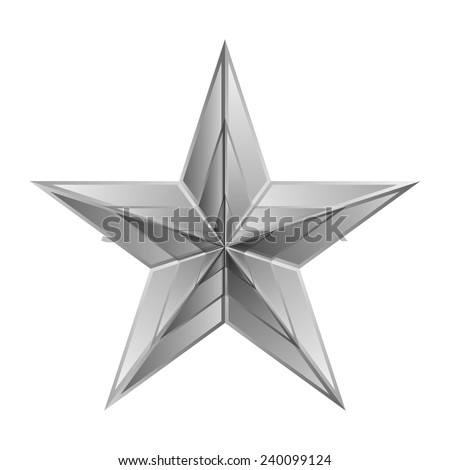 vector illustration of silver