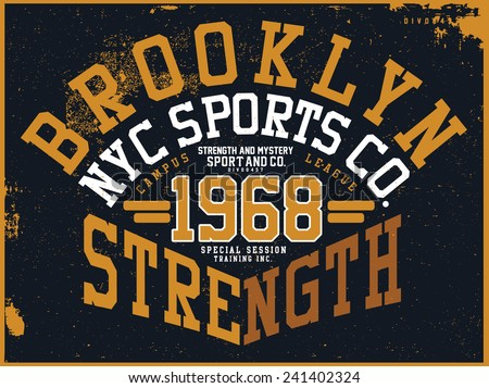 brooklyn sports graphic design