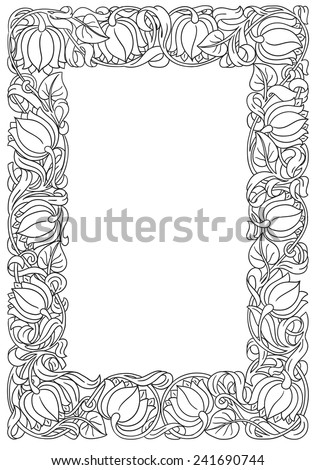 Gothic style picture frame free vector download (17,769 Free vector ...