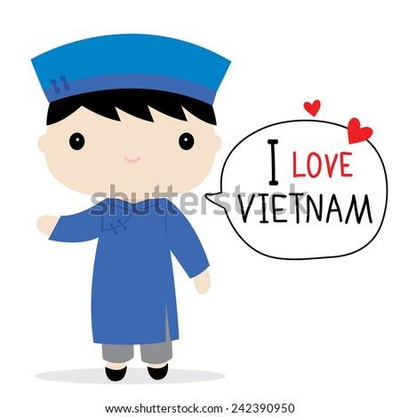 vietnam men national dress