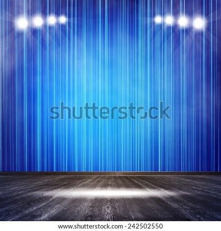 stock-vector-background-in-show-vector-interior-shined-with-a-projector