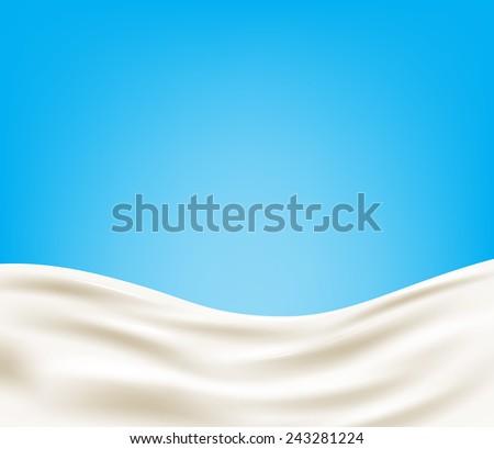 milk background vector eps 10