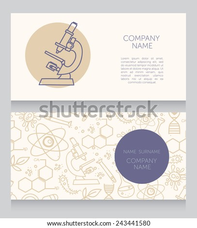 business cards template for