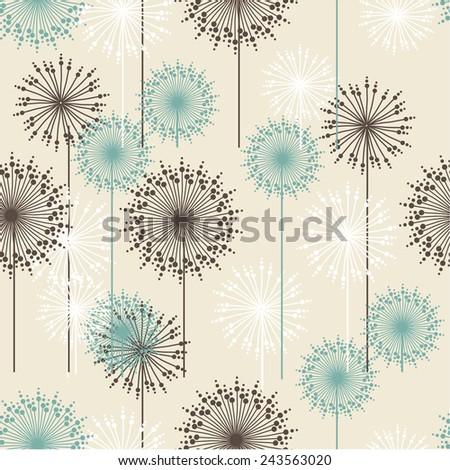 vintage floral pattern in