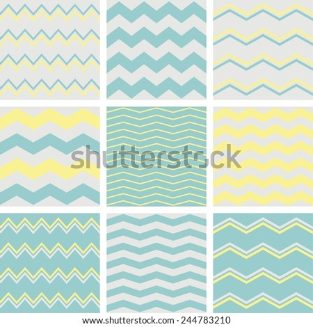 tile vector pattern set with
