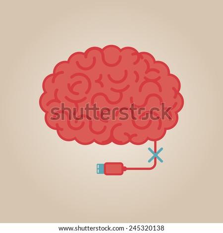 brain concept illustration