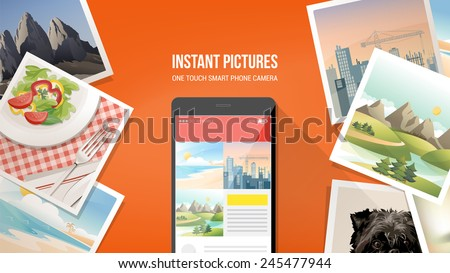 pictures camera app on