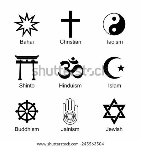 Vector Buddhism Symbols Free Vector Download 18377 Free Vector