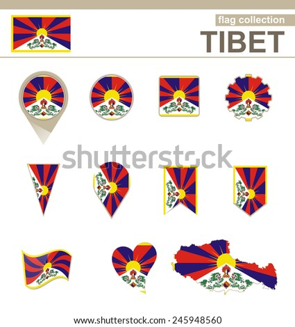 tibet flag collection  12