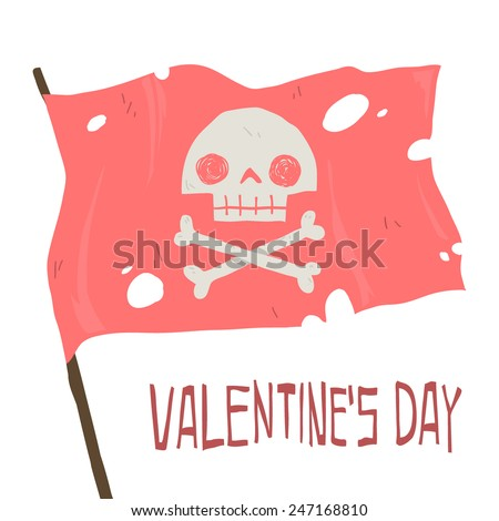 vector cartoon happy valentine
