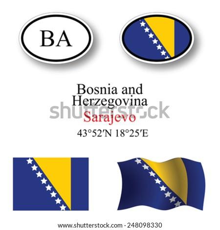 bosnia and herzegovina icons