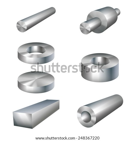 steel products metal parts