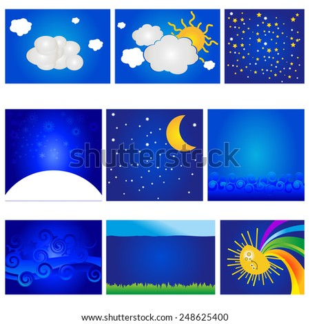 vector different backgrounds
