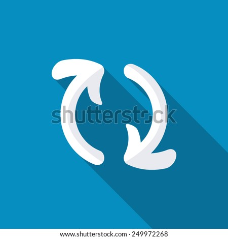 two gross arrows circle