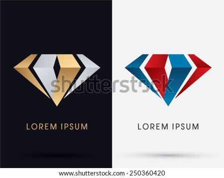 abstract jewelry  diamond