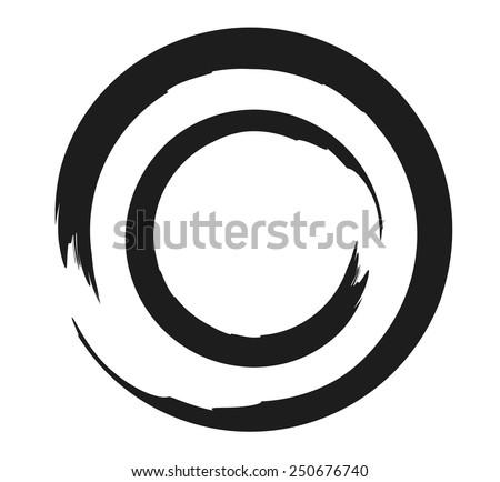 double zen or enso circle