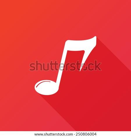 music symbol icon vector