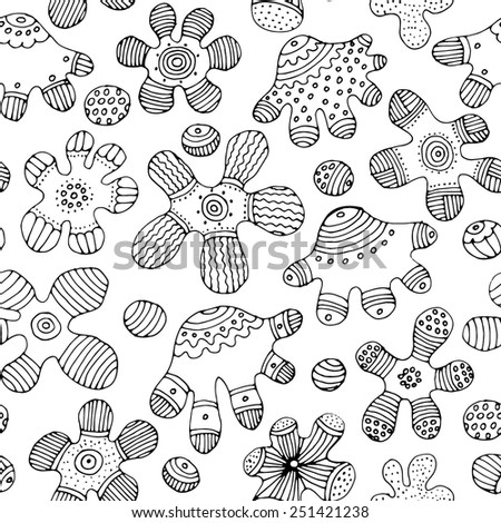 seamless abstract pattern with