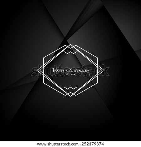 abstract black background with