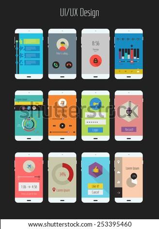 application design template
