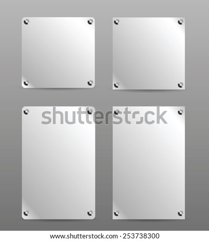 stainless steel poster